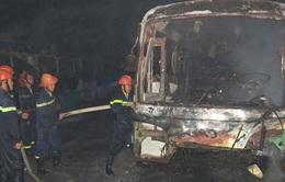 Đồng Tháp: 10 xe buýt bỗng dưng bốc cháy