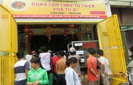 Tri ân quán cơm từ thiện giá 5.000 tại Sài Gòn