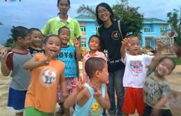 13 năm đam mê tình nguyện của cô gái trẻ
