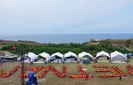 Xây dựng cột cờ Tổ quốc trên đảo Lý Sơn