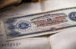 Bán đấu giá tờ tiền giấy đầu tiên của Astralia