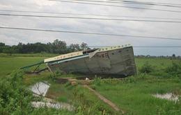 Lốc xoáy, mưa lớn gây thiệt hại nặng tại Gia Lai