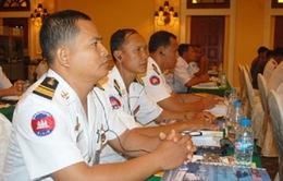 Tập huấn sỹ quan lên tàu các quốc gia vùng Vịnh Thái Lan