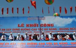 Khởi công tuyến cao tốc Đà Nẵng - Quảng Ngãi
