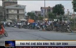 Bắc Ninh: Khó khăn trong quản lý chợ dân sinh