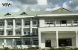 Bệnh viện xây 5 năm vẫn chưa xong
