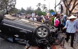 TNGT nghiêm trọng 1 người chết, 3 người bị thương