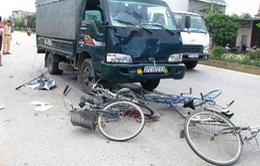 Đi ôn thi, học sinh bị xe tải đâm chết