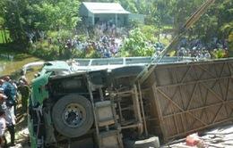 Xác định nguyên nhân tai nạn xe khách ở Quảng Nam