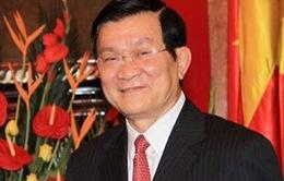 Chủ tịch nước Trương Tấn Sang bắt đầu chuyến thăm Indonesia