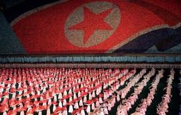 Choáng ngợp màn đồng diễn tại Triều Tiên