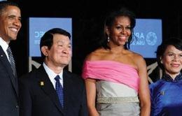 Chủ tịch nước Trương Tấn Sang thăm chính thức Mỹ