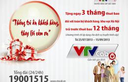 VTVcab tri ân với khách hàng