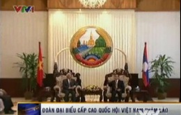 Thủ tướng Lào tiếp Phó Chủ tịch Quốc hội Uông Chu Lưu