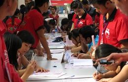 Trường CĐ Truyền hình nhiệt tình hưởng ứng hoạt động nhân đạo