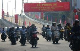 Thông xe cầu vượt Trần Khát Chân - Đại Cồ Việt