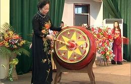Phó Chủ tịch nước Nguyễn Thị Doan dự khai giảng tại trường chuyên Sơn La