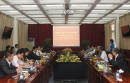 Đoàn đại biểu Ban Tư tưởng TW ĐCS Cuba thăm và làm việc tại Đài THVN