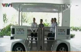 Singapore thử nghiệm loại xe điện không người lái
