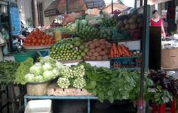 Giá rau xanh tại TP.HCM tăng