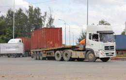 Từ 1/10, xe container phải có phù hiệu khi lưu thông