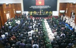 Lễ truy điệu Đại tướng tại Quảng Bình