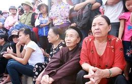 Hàng vạn người dân Quảng Bình chờ Đại tướng