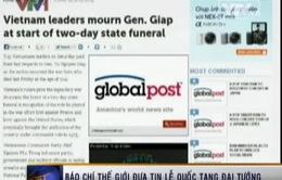 Truyền thông quốc tế đưa tin về Lễ tang Đại tướng Võ Nguyên Giáp