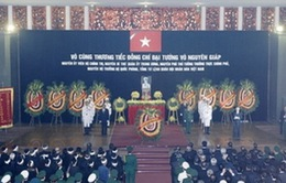 Lời cảm ơn của Ban Lễ tang Nhà nước và gia đình Đại tướng
