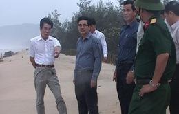 Bộ trưởng Cao Đức Phát kiểm tra phòng chống bão số 11 tại TT-Huế