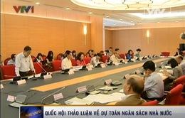 Quốc hội thảo luận về dự toán ngân sách Nhà nước