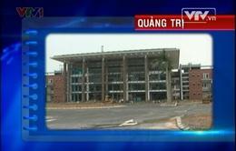 Thiếu vốn, nhiều công trình ở Quảng Trị thi công bỏ dở