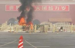 Ô tô lao vào đám đông ở Thiên An Môn, 3 người thiệt mạng
