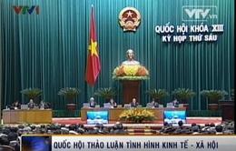 Quốc hội tiếp tục thảo luận tình hình kinh tế - xã hội