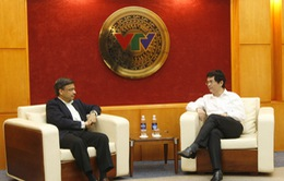 Tổng Giám đốc tiếp xã giao đại diện Unilever Việt Nam