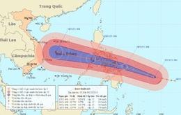 Siêu bão Haiyan mạnh cấp 17 đang tiến thẳng vào biển Đông