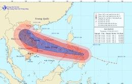 Siêu bão Haiyan giật trên cấp 17 đang áp sát biển Đông