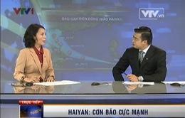 Siêu bão Haiyan: Di chuyển nhanh hơn tàu hỏa siêu tốc, sức hủy diệt cực mạnh