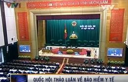 Quốc hội thảo luận thực hiện chính sách pháp luật về BHYT