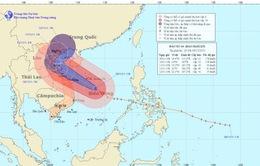 Bão Haiyan gây gió giật cấp 10, 11 ở đảo Song Tử Tây