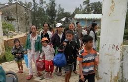 Nam Định di dời 50.000 hộ dân tránh bão Haiyan