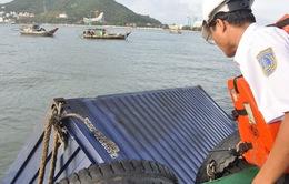 Vụ 2 tàu đâm nhau tại Vũng Tàu: Đã vớt được 54/68 container