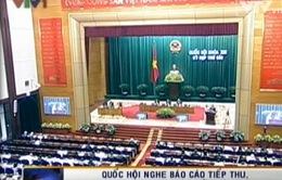 QH nghe báo cáo tiếp thu, chính lý dự thảo sửa đổi Hiến pháp