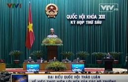 Đại biểu QH thảo luận về việc thực hiện lời hứa của các Bộ trưởng