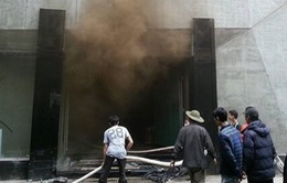 Chùm ảnh: Cận cảnh vụ cháy kinh hoàng khu ăn chơi của giới trẻ Hà Nội