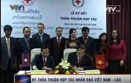 Ký kết thỏa thuận hợp tác nhân đạo Việt Nam - Lào