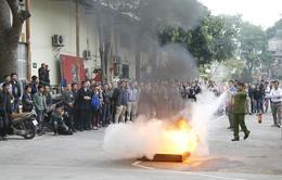 Tập huấn nghiệp vụ phòng cháy, chữa cháy năm 2013