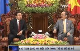 Chủ tịch Quốc hội Hội kiến Tổng thống Mông Cổ