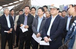 PTT Hoàng Trung Hải kiểm tra tiến độ dự án đường cao tốc HN - HP