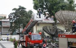 Đài THVN diễn tập phương án chữa cháy năm 2013